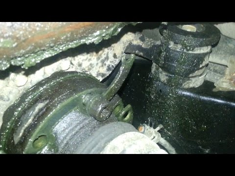Lexus Soarer SC400 rear axle failure
