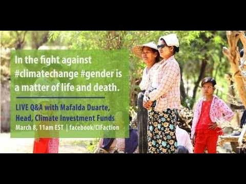 A Greener Future Starts with Women #IWD2017