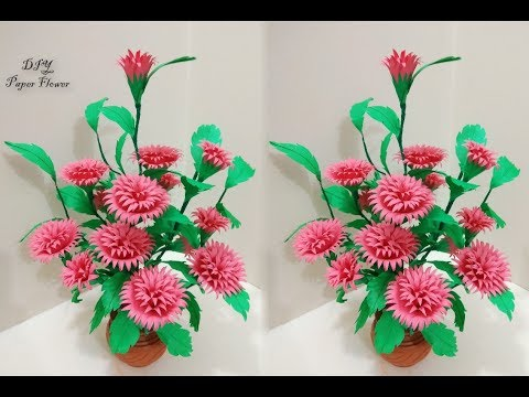 How to Make A Gift Flower   Easy Flowers Making   Handmade Gift Ideas   DIY Paper Crafts