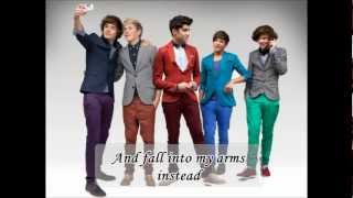 One Direction-One Thing (Lyrics + picture) By GYB.