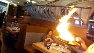 greek flaming saganaki
