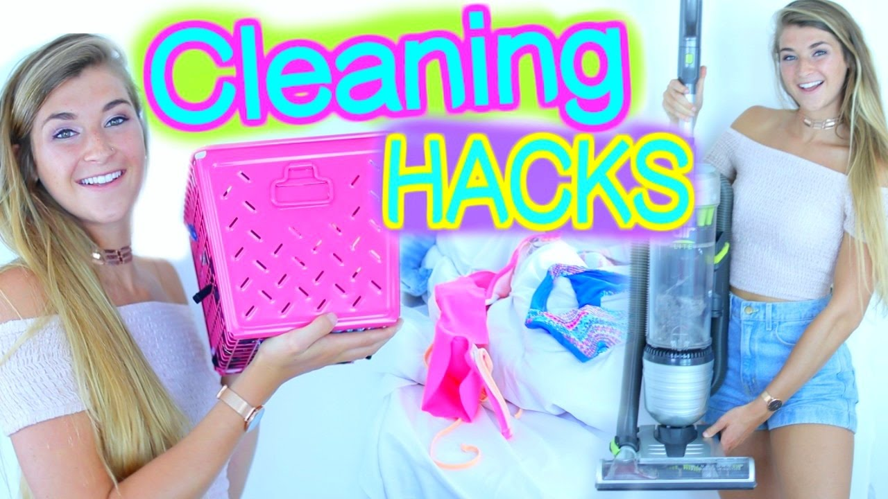 youtube how to clean your room