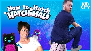 Hatchimals Surprise Egg - How to Hatch a Hatchimals Fast! by KIDCITY Family