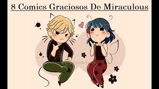 """8 Cómics Graciosos De Miraculous"""