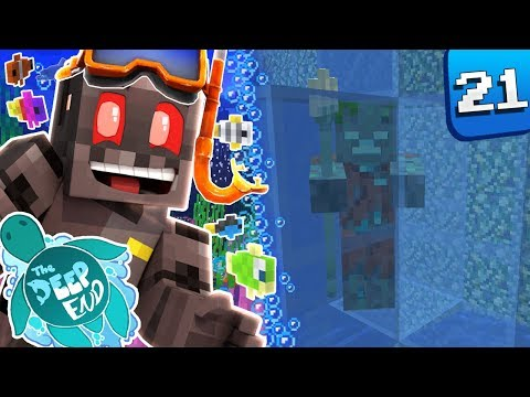 Minecraft The Deep End SMP Episode 21: Ice Poseidon