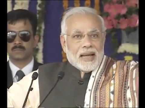 After a long time Narendra Modi's Gujarati speech, at Bhuj in Gujarat
