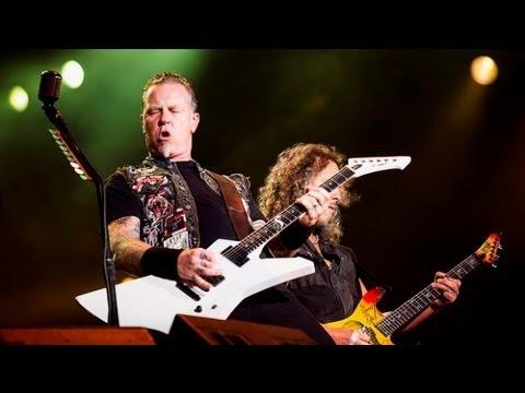 Metallica coloca fogo no palco do Rock in Rio literalmente - SRZD