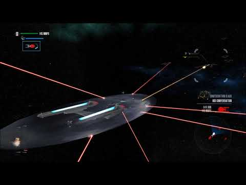 Star Trek Legacy: Ultimate Universe 2.2 - Sovereign vs. Conf