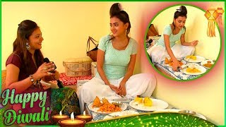 Tejaswi Prakash aka Diya Celebrates Diwali By Eating Chaat & Reveals Her Diet Plans | Diwali 2017