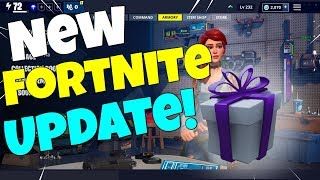 *NEW* Save the World Update! New UI + Gifts + Rewards (Fortnite Save The World)
