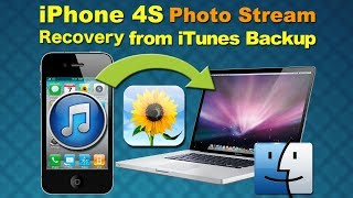 Mac iPhone Photo Recovery: How to Restore Photo Stream from iPhone 4S iTunes Backup on Mac
