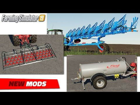 FS19 | New Equipment Mods (2020-05-25/1) - Review