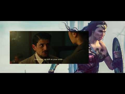 Ancient Greek spoken by Wonder Woman (2017)