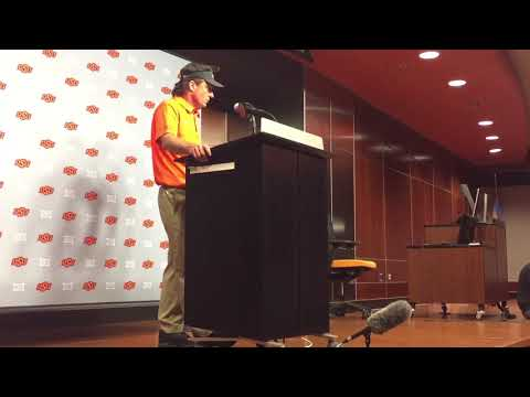 Mike Gundy full post game press conference vs Tulsa