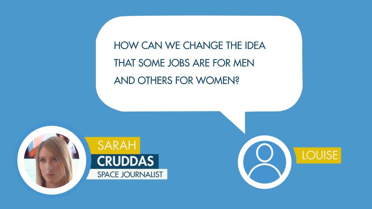 sarah cruddas responds to a question from louise on jobs for men sarah cruddas responds to a question from louise on jobs for men women