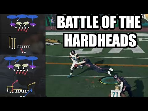 The Great Battle Of The Hard Heads | He runs 1 Play on Offense & I Run 1 Play On Defense  | Madden