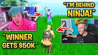 Every TFUE vs NINJA 1v1 in Fortnite!