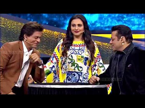 Shahrukh Khan Salman Khan Love Chemistry On Dus Ka Dum Finale Episode - HUNGAMA