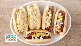Frank and Beans and Reuben Dogs - Everyday Food with Sarah Carey