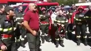 il Pompiere paura non ne ha!