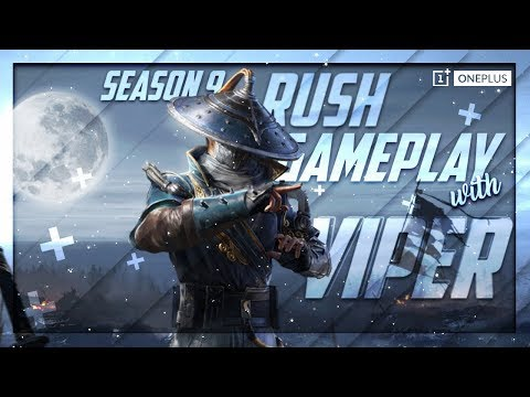 Season 9 Rush Gameplay ft. Team SouL | PUBG Mobile | Powered By OnePlus