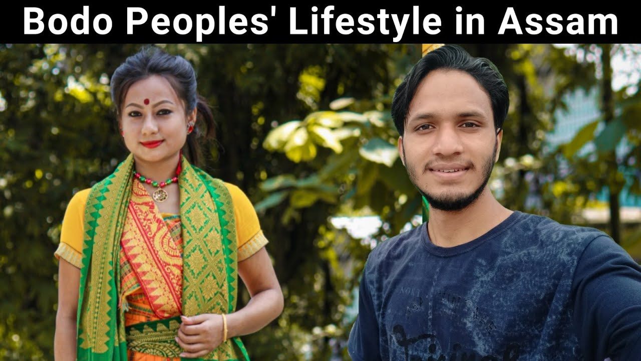 My Friend Mijing Goyari and Her Lifestyle in Assam    Bodo People     By Alok Rana    Pahadi Biker
