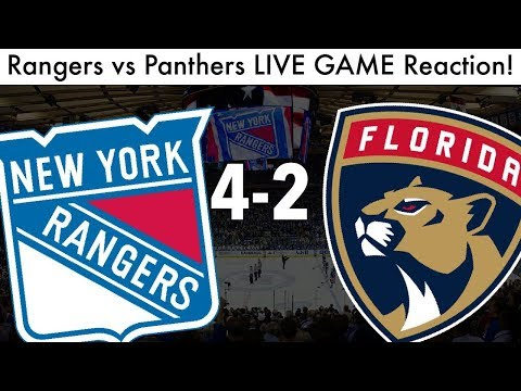 NHL NEW YORK RANGERS Vs FLORIDA PANTHERS LIVE Game Reaction!