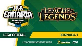 Highlights I Jornada de Liga Oficial de LOL en la LCES