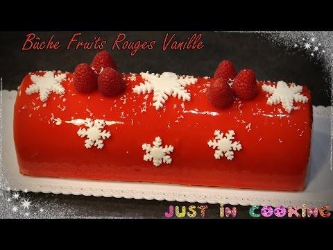 ❅-recette-de-bûche-de-noël-aux-fruits-rouges-et-à-la-vanille-❅
