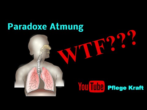 Was Bedeutet Paradoxe Atmung?
