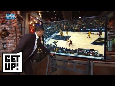 Is LeBron James tired? Jalen Rose breaks down Cavaliers vs. Pacers Game 4 film | Get Up! | ESPN