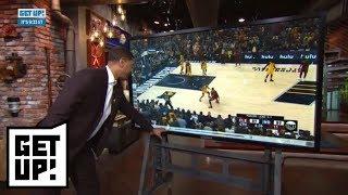 Is LeBron James tired? Jalen Rose breaks down Cavaliers vs. Pacers Game 4 film   Get Up!   ESPN