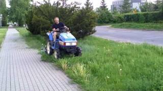 Sprzedaż używanych mini traktorków do trawy.  www.akant-ogrody.pl