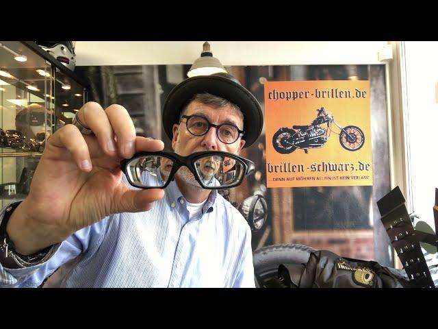 Bikerbrillen bzw. Choppers Tips Der Hammer, eine Bikerbrille mit - 13,0 dpt. TOP, danke an Shamir