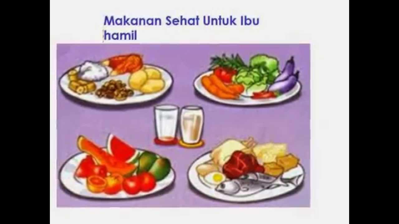 Makanan Sehat Ibu Hamil - YouTube