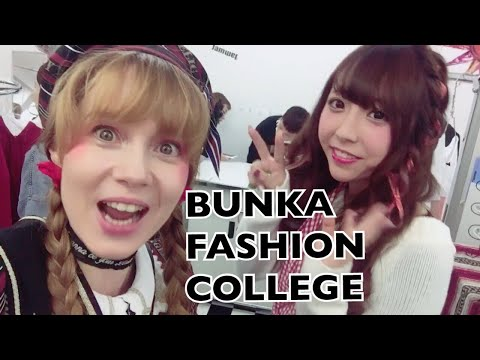 FOLLOW ME AROUND BUNKA FASHION COLLEGE TOKYO ★ 文化服装学院行ってきました