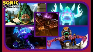 Sonic Unleashed HD - All Boss Encounters