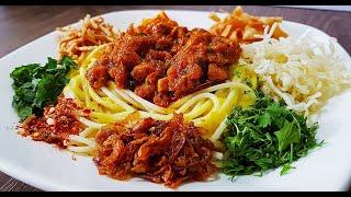 Khausa Recipe l Khao Suey l Cooking with Benazir