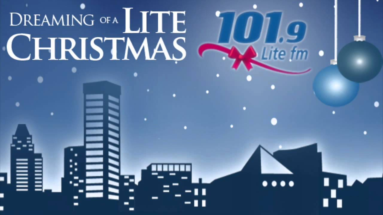 1019 lite fm wlif baltimore christmas station id youtube