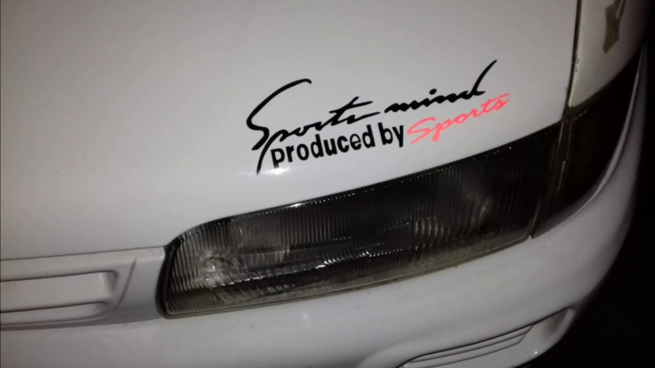 How To Install Car Sport Mind Stickers