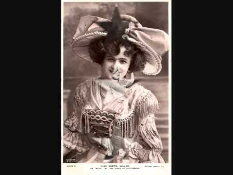 "Miss Gertie Millar sings ""Chalk Farm To Camberwell Green"" 1915"