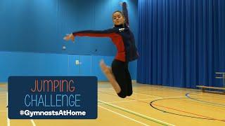 Jumping Challenge - #GymnastsAtHome