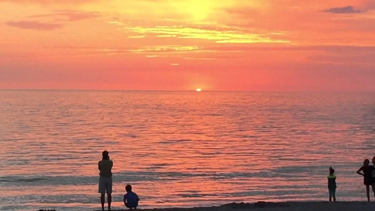 Green Light Sunset Captiva Island Fl