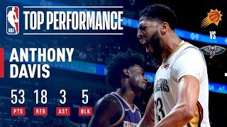 Anthony Davis Joins Bob McAdoo As the Only 2 Players With 50 Pts, 15 Reb, 5 Blk in a Game