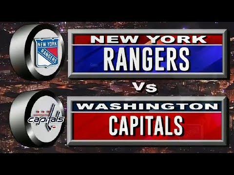 Вашингтон - Рейнджерс: 19 октября 2019, Обзор матча...