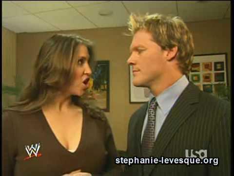 Stephanie Mcmahon and Chris Jericho Backstage Segment thumbnail