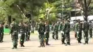 Kolone Senapan Yonif 623/BWU