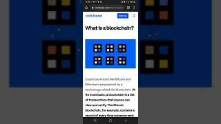 What Is A BlockChain ?