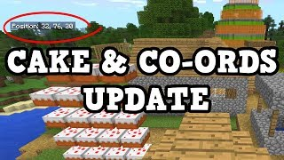 Minecraft XBOX Update 1.2.0.29 - Co-ords & Cake???