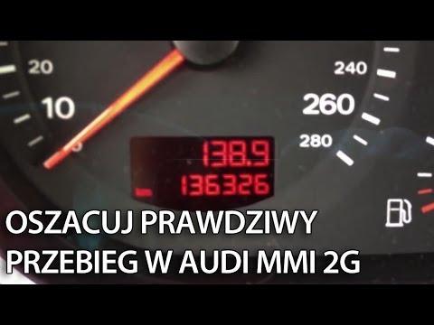 Audi Mmi 2g Jak Oszacować Prawdziwy Przebieg Samochodu